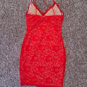 Red dress (homecoming or casual)